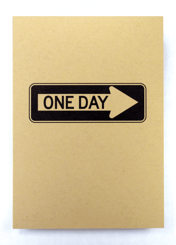 one day at a time sobriety addiction recovery greeting cards