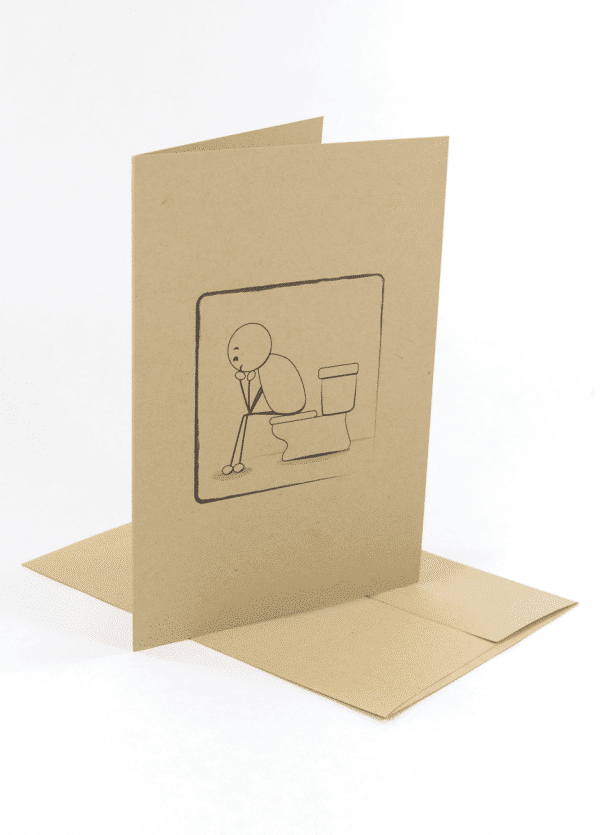 This Too Shall Pass recovery greeting card